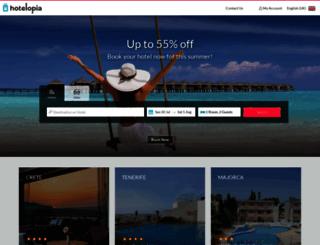 hotelopia.com screenshot