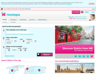 hotelopia.net screenshot