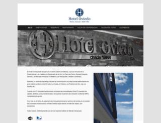 hoteloviedo.com.ve screenshot