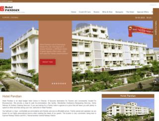 hotelpandian.com screenshot