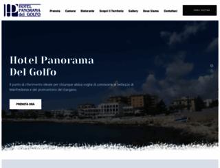 hotelpanoramadelgolfo.it screenshot