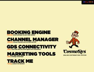 hotelparadise.cosmores.com screenshot