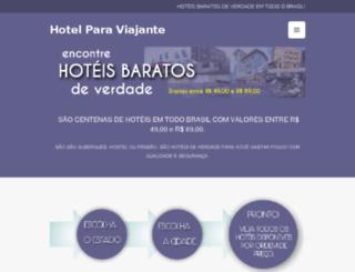 hotelparaviajante.com.br screenshot