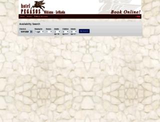 hotelpegasos.reserve-online.net screenshot