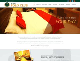 hotelpoloclub.com screenshot