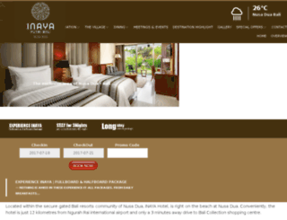 hotelputribali.com screenshot