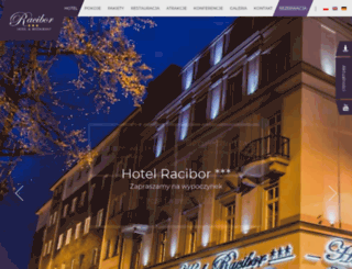 hotelracibor.pl screenshot