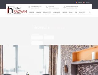 hotelrazvan.com screenshot