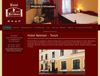 hotelretman.pl screenshot