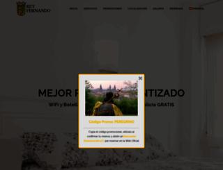 hotelreyfernando.com screenshot