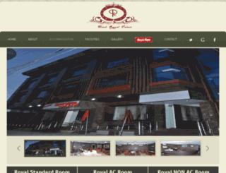 hotelroyalpalacepalwal.com screenshot