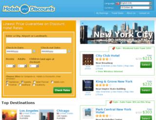 hotels-and-discounts.com screenshot