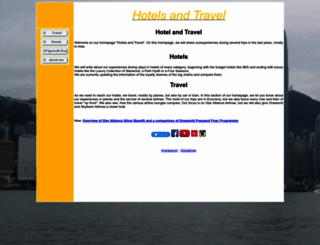 hotels-and-travel.de screenshot