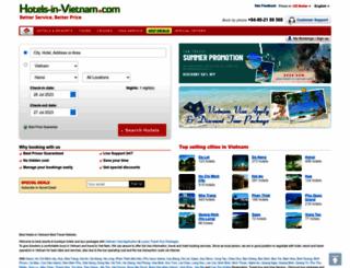 hotels-in-vietnam.com screenshot