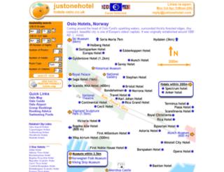 hotels-oslo.co.uk screenshot