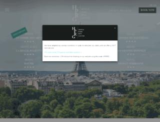 hotels-paris-rive-gauche.com screenshot