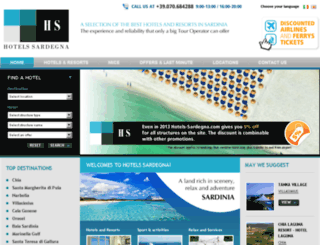 hotels-sardegna.com screenshot