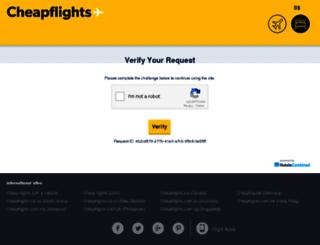hotels.cheapflights.com.sg screenshot