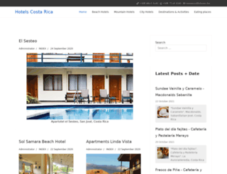 hotels.co.cr screenshot