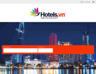 hotels.com.vn screenshot