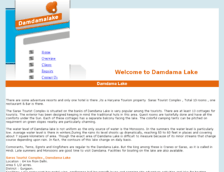 hotels.damdamalake.com screenshot