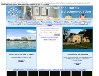 hotels.glo-con.com screenshot