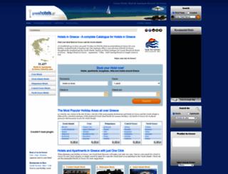 hotels.gr screenshot