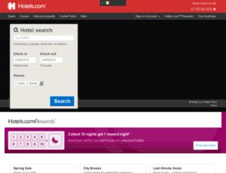 hotels.ie screenshot