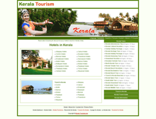 hotels.kerala-tourism.org screenshot