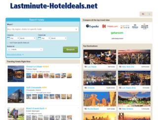 hotels.lastminute-hoteldeals.net screenshot