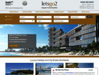 hotels.letsgo2.com screenshot