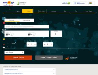 hotels.makemytrip.com screenshot