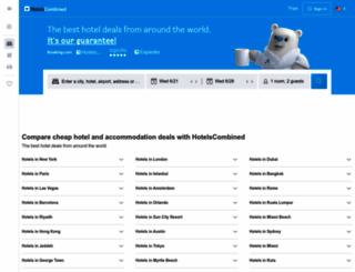hotels.melakatourism.com screenshot