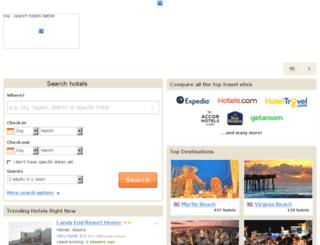 hotels.miji.in screenshot