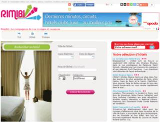 hotels.rimibi.fr screenshot