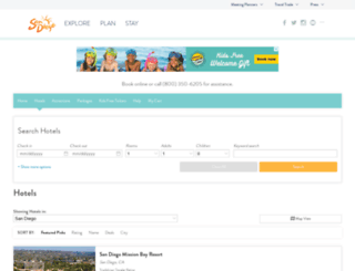 hotels.sandiego.org screenshot