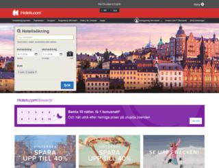 hotels.se screenshot