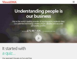 hotels.visualdna.com screenshot