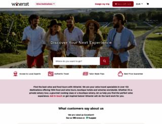 hotels.winerist.com screenshot