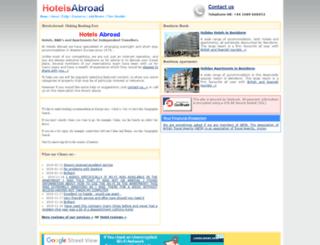 hotelsabroad.co.uk screenshot