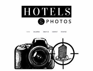 hotelsandphotos.squarespace.com screenshot