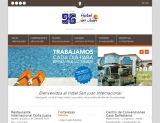 hotelsanjuaninternacional.com screenshot
