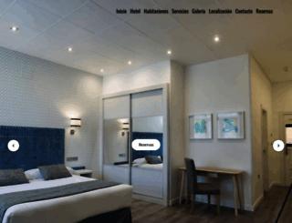 hotelsantacruz.net screenshot