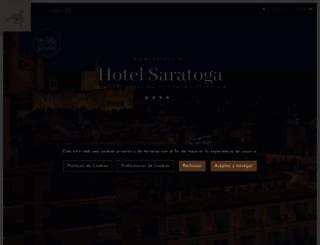 hotelsaratogapalma.com screenshot