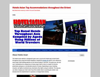 hotelsasian.com screenshot