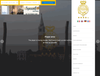 hotelsavoiajolanda.com screenshot