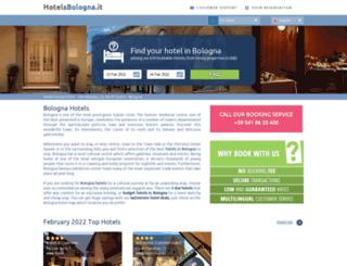 hotelsbologna.it screenshot