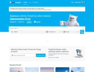 hotelscombined.pl screenshot