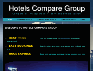 hotelscomparegroup.global screenshot