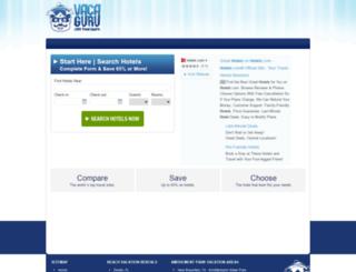 hotelsearch.vacaguru.com screenshot